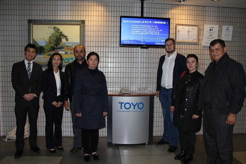 Завод термопластавтоматов TOYO в Японии