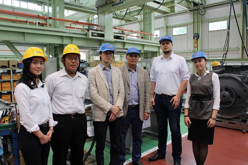Завод электрических термопластавтоматов TOYO в Японии