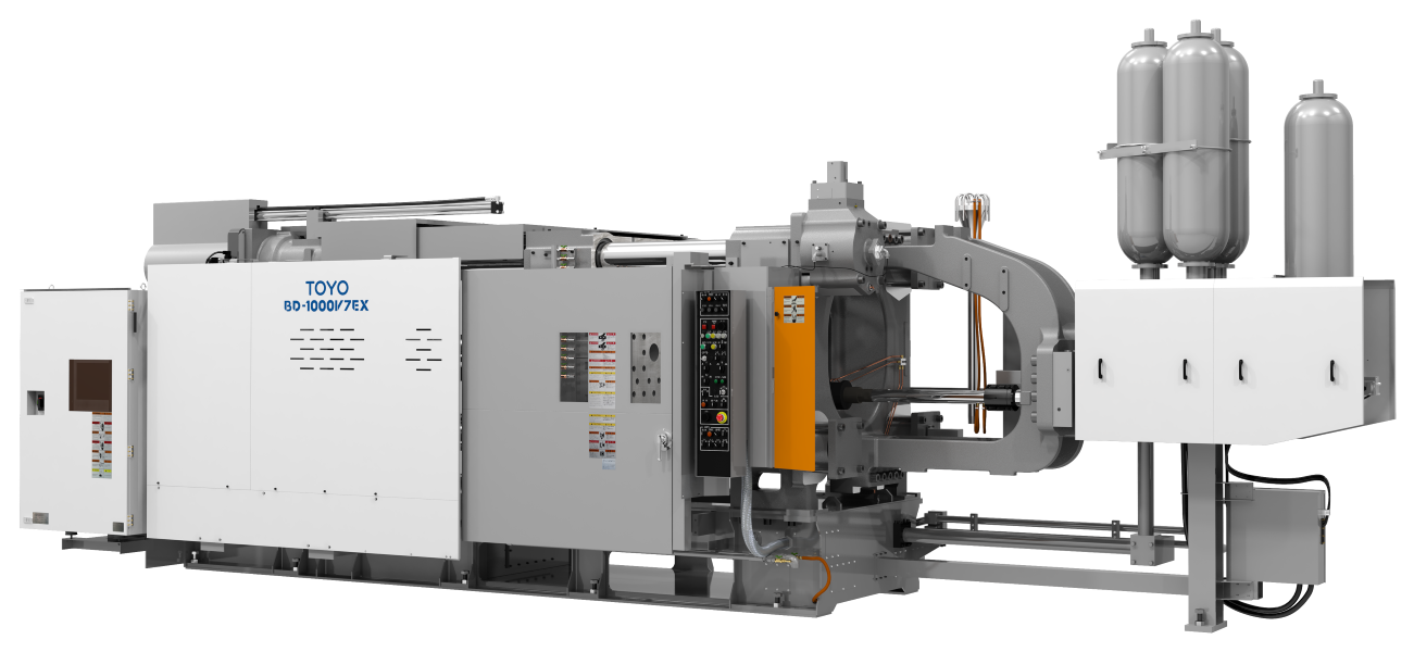 Фото машины для литья цветных металлов под давлением на 1000 тонн