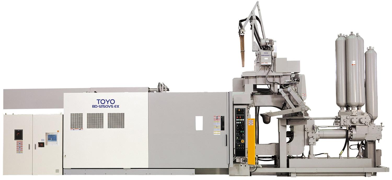 Фотография машины для литья цветных металлов TOYO на 1250 тонн