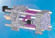 Схема термопластавтомата без гидравлики