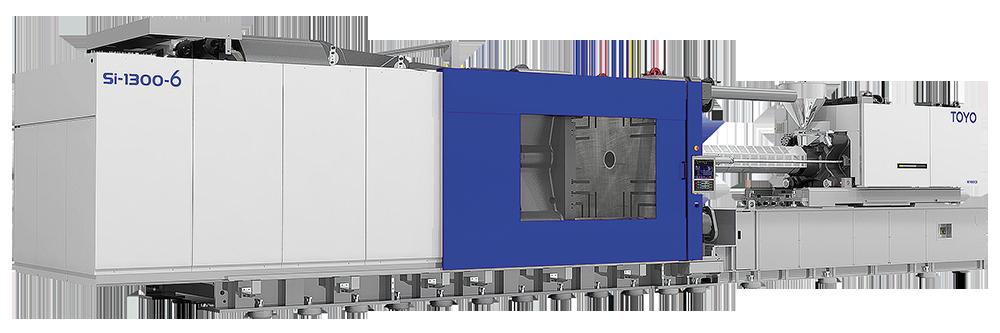 Большой электрический термопластавтомат TOYO с усилием смыкания 1300 тонн