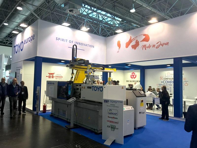Литьевые машины на выставке K 2019 в Дюссельдорфе